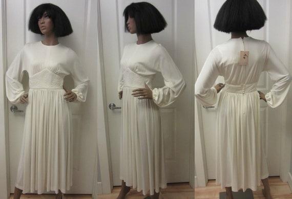 1970s Donald Brooks dress | 70's High Fashion Desi