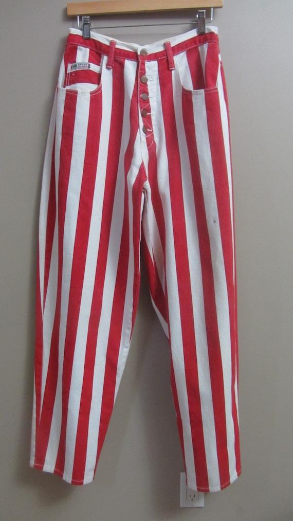 vintage Cross Colours striped jeans | 90s rare vi… - image 8