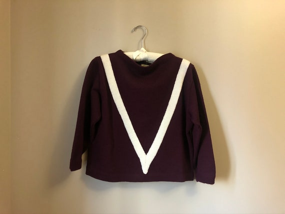 1940s collegiate sweater