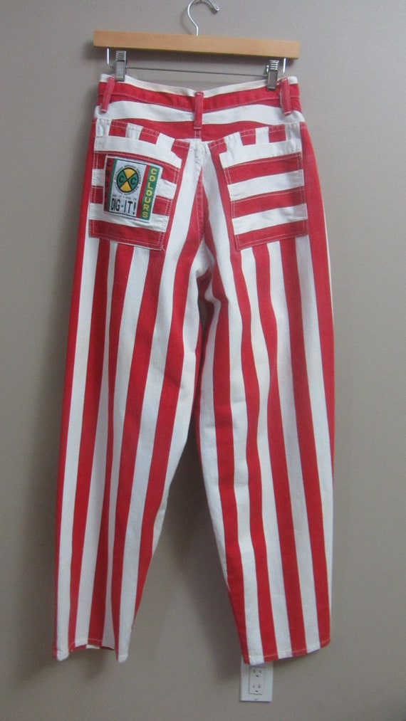 vintage Cross Colours striped jeans | 90s rare vi… - image 7