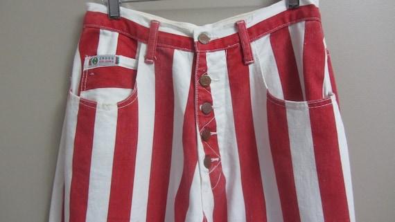 vintage Cross Colours striped jeans | 90s rare vi… - image 9
