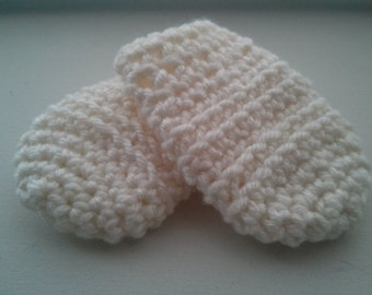 Too Easy Baby Mittens Pattern