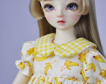 bjd msd size dress for doll - n06 banana