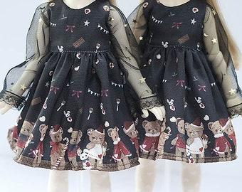 bjd msd size dress for doll - new05