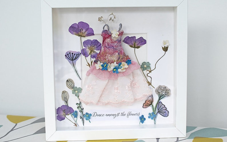 Fairy Tale Picture  Miniature Dress Picture  Enchanted Fairy image 0