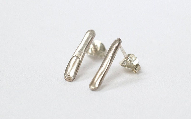 Silver Earrings  Sterling Silver Earrings  Contemporary image 0