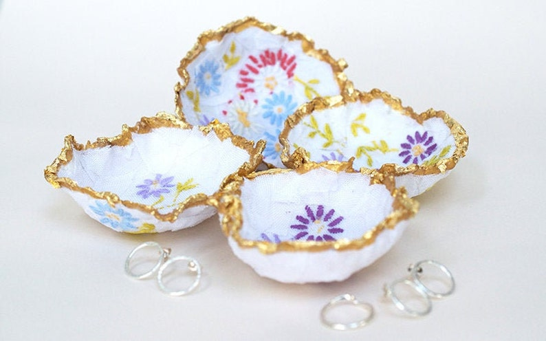 Ring Dishes  Vintage Style Ring Dishes  Jewellery Dish  image 0