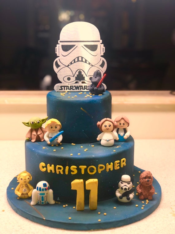 Star Wars Cake Toppers Wedding Cake Topper May The Force Be With You