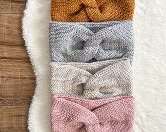 X-Headband - Women's Headband, Women's Winter Accessories, Knit Headband, Ear Warmer - Adult Size - READY to SHIP