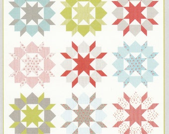 Swoon Quilt Pattern By Camille Roskelly of Thimble Blossoms