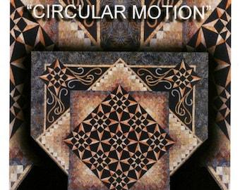 Circular Motion Quilt Pattern by Kathleen Andrews of KwiltArt