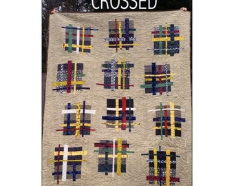 Double Crossed Quilt Pattern by Saginaw St. Quilts