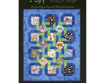 I Spy with a Twist by Lisa Moore of Quilts With a Twist