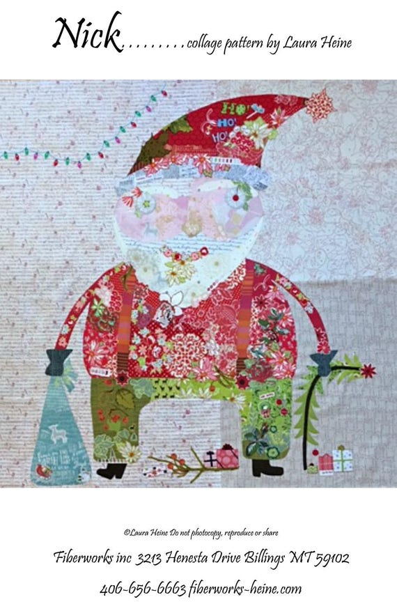 Quilt Pattern ~ SEAWELL ~ by Laura Heine Fiberworks