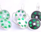 Cannabis leaf earrings, marijuana leaf earrings, pot leaf earrings, 420 friendly, green glitter earrings, weed leaf earrings, stoner gift