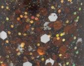 Hot Cocoa - Copper Bronze Brown, Glitter Nail Polish, Fall, Autumn nailpolish, 5 free nail polish, handmade nail polish, vegan nail