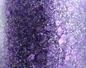 Ladies Night - Purple Holographic Glitter Nail Polish Lavender Lilac Purple handmade indie nail polish 5 free nail polish vegan