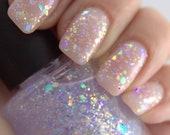 Shattered Opal - Opalescent Iridescent Glitter Nail Polish 5 free nail polish handmade indie nail polish vegan cruelty free nail polish