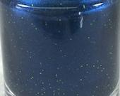 Second Down neon green glitter deep blue seattle seahawks colors Team Spirit line glitter nail polish
