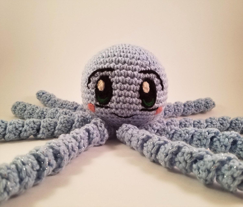 Crochet Octopus Pattern Etsy