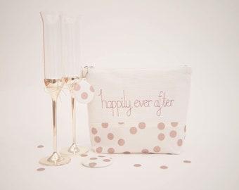 Sac cosmétique / / cadeau de mariée / mariage cadeau