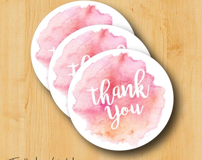 Thank You Sticker | Bridal Stickers | WeddingLabels | Wedding Stickers for Favors | Thank You Labels
