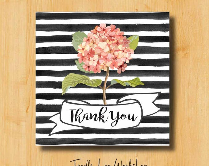 Thank You Sticker | Bridal Stickers | Wedding Labels | Wedding Stickers for Favors | Thank You Labels