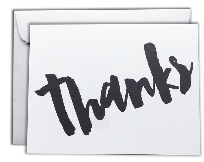 Thank You Note Cards | Boxed Set of 10 Thanks Cards