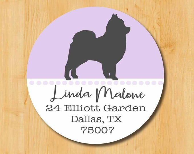 Pomeranian Return Address Sticker | Pomeranian Stickers | Gift Dog Lover | Pomeranian Dog Label | Pomerian lover gift | Pomeranian Labels