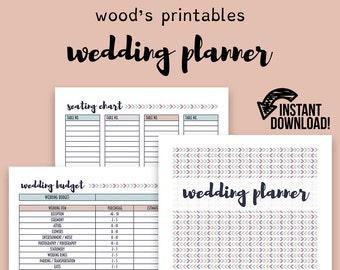 wedding planner wedding binder wedding planner book wedding etsy