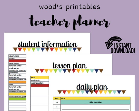photograph relating to Teacher Plan Book Printable identify Trainer Planner; Instruction Planner, Trainer Business, Instructor Printable, Instructor Lesson Planner, Lesson Method, Lesson Method E-book