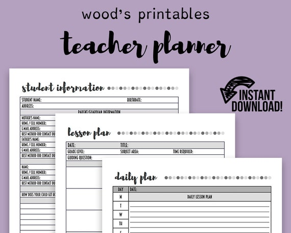photograph about Teacher Plan Book Printable identified as Trainer Planner; Coaching Planner, Instructor Enterprise, Instructor Printable, Instructor Lesson Planner, Lesson Application, Lesson Program Reserve