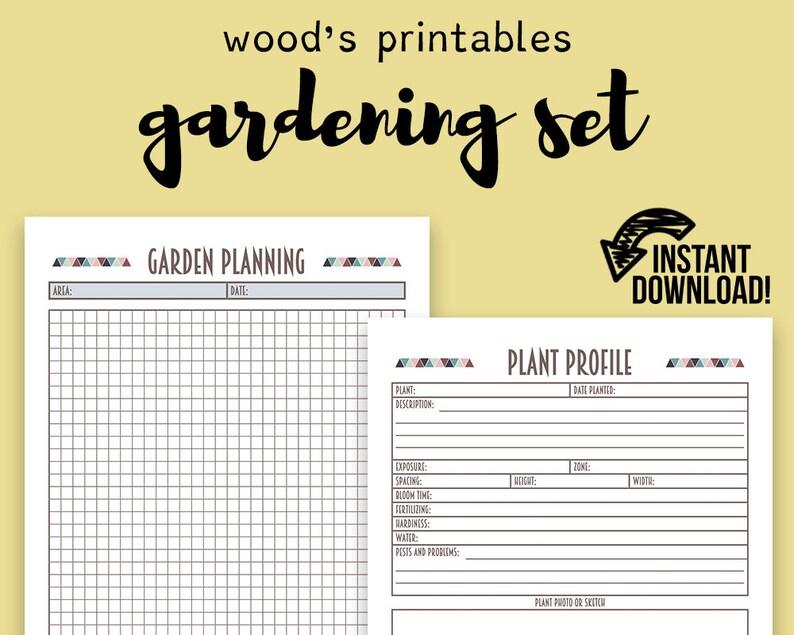 picture relating to Printable Garden Planner called Back garden Planner PDF Printable; Yard Indication, Back garden Marker, Gardening Magazine, Back garden Printable, Gardening Planner, Gardening Laptop