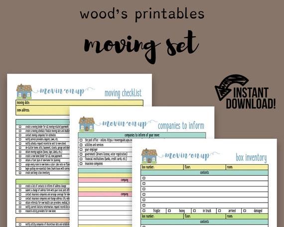 Moving Planner Set