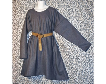 Viking Celtic Anglo Saxon Greek Roman Medieval style tunic top for a child in various colors and sizes