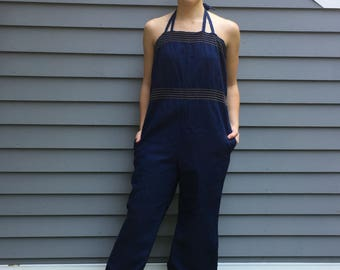 1970s Landlubber Denim Jumpsuit