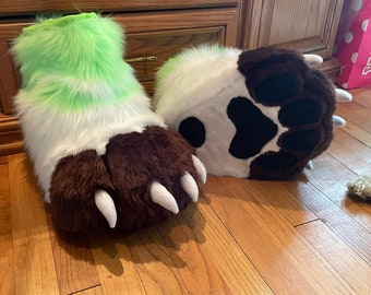 Stompy Sockpaw/Feetpaw Pattern (Digital PDF) for Fursuits or Cosplay