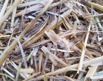 1 ounce of Straw for Fairy Garden Natural Decor Supplies Dollhouse Farm Scape