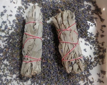 Powdered Lavender and Sage incense