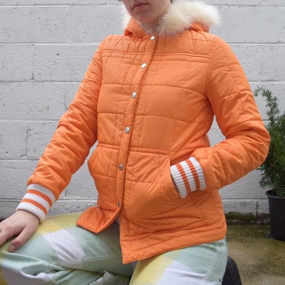 Courreges Orange Puffer