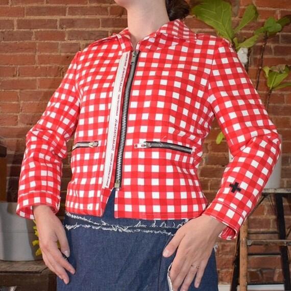 Castelbajac Checkered Jacket