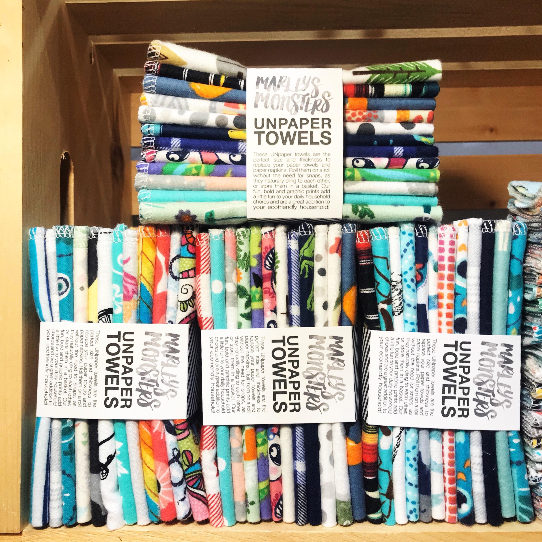 12 UNPAPER TOWELS. You Choose Prints