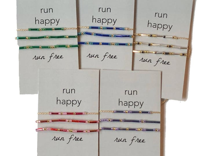 Words to Run By: Run Happy, Run Free