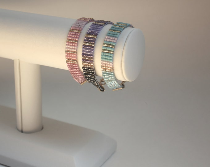 Secret message cuff bracelet - Small