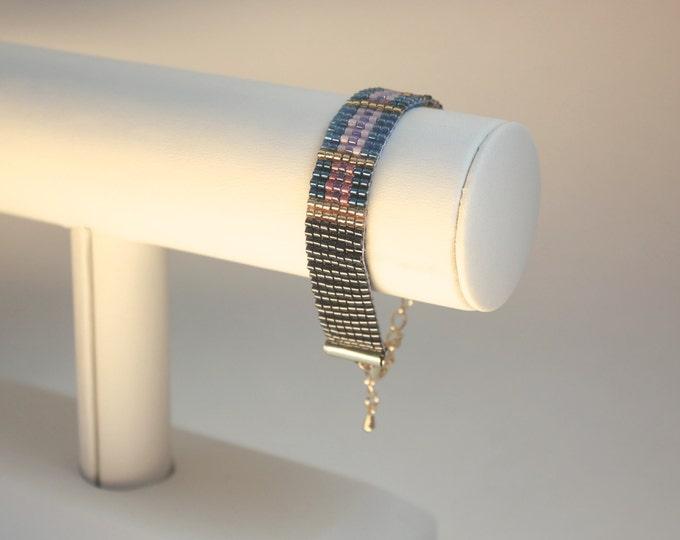 Secret message cuff bracelet - Large