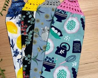 Crochet Cotton hand towel
