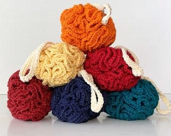 Crochet Shower Puff