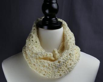 Cream Cowl