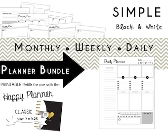HAPPY PLANNER S.O.A.P. Bible Study Printable Planner Journal