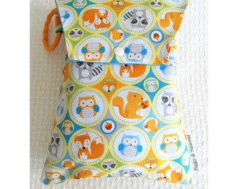 Baby woodland nappy diaper wallet